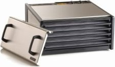 Excalibur D500S 5-Tray Dehydrator, Stainless Steel