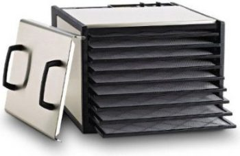 Excalibur Stainless Steel Food Dehydrator DS900S