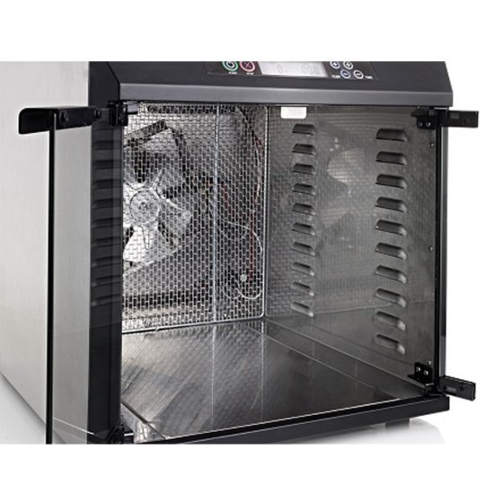 rear or back mounted dehydrator fan