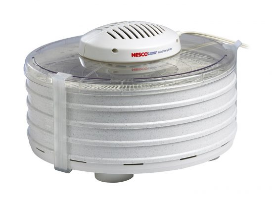top mounted dehydrator fan