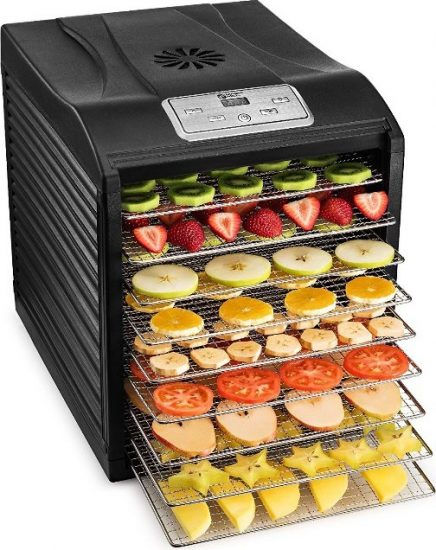MAGIC MILL Dehydrator Bundle with 9 Drying Racks