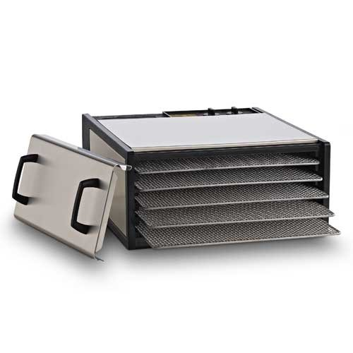 Excalibur Stainless Steel with Stainless Trays D500SHD