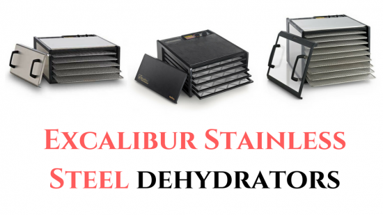 Excalibur Stainless Steel Food Dehydrator
