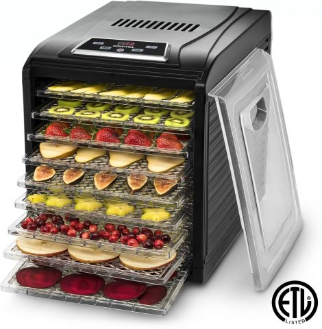 Gourmia GFD1950 Digital Food Dehydrator