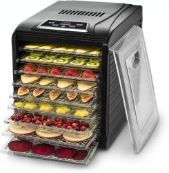 Gourmia GFD1950 Digital meat food dehydrator