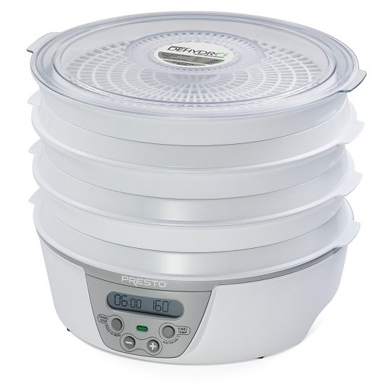 presto 06301 digital meat dehydrator