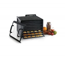 Excalibur 3948CDB digital food dehydrator with timer