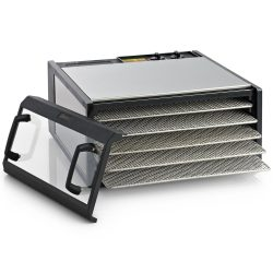 Excalibur 5-Tray Stainless Steel Food Dehydator with Timer