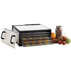excalibur d500shd stainless steel dehydrator with timer