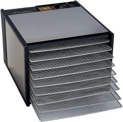 excalibur d900shd stainless steel dehydrator with timer