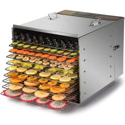 CO-Z Commercial Grade Stainless Steel Dehydrator for jerky