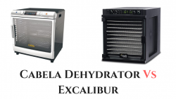 Cabela Dehydrator Vs Excalibur