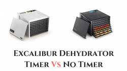 Excalibur Dehydrator Timer Vs No Timer