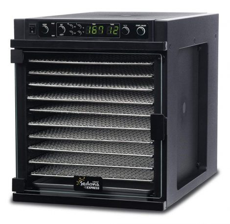 Tribest Sedona Express SDE-S6780-B Digital Food Dehydrator