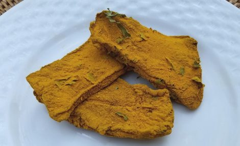 Dried Liver and Turmeric Dog Treats