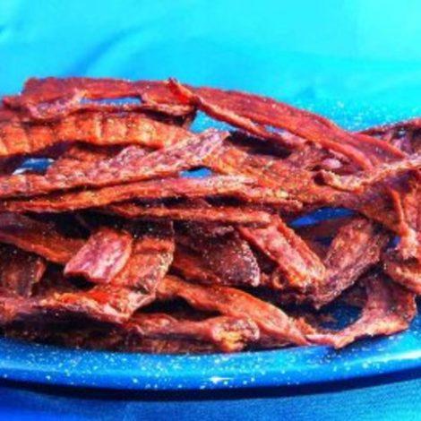 Paprika smoky turkey jerky