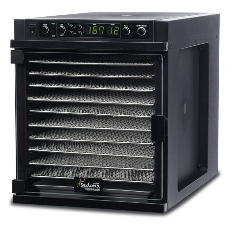 03_Tribest Sedona Express SDE-S6780-B Digital Food Dehydrator