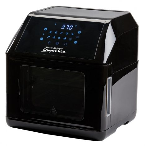 Power AirFryer XL 6 QT with Professional Dehydrator and Rotisserie Features