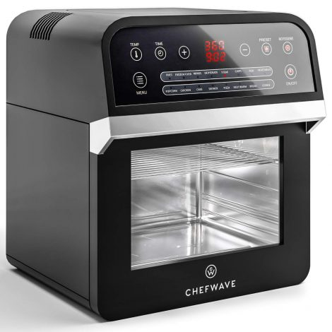 ChefWave 12.6 Quart Air Fryer, Rotisserie and Dehydrator