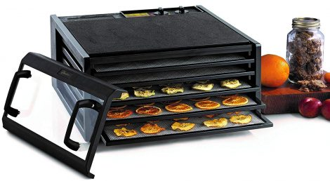 Excalibur 5-Tray 3526TCDB Food Dehydrator Manual