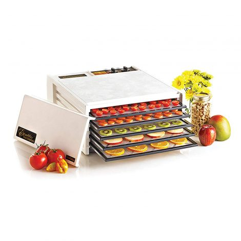 Excalibur 5-Tray 3526TW Food Dehydrator Manual