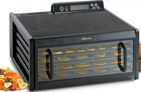 Excalibur 5-Tray 3548CDB Food Dehydrator Manual