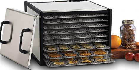 Excalibur 9-Tray D900SHD Food Dehydrator Manual