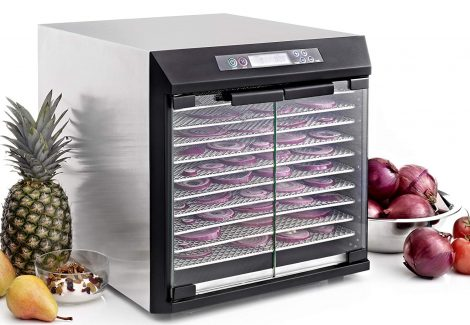Excalibur 10-Tray EXC10EL Stainless Steel Dehydrator Manual