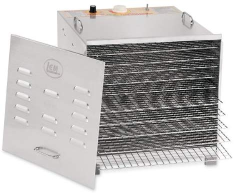 LEM Products 778A Stainless Steel 10 Tray Dehydrator Manual