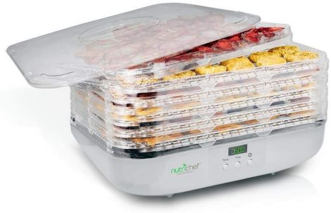 Nutrichef Food Dehydrator PKFD16 Manual