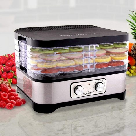 Nutrichef Multi-Tier Electric Food Dehydrator PKFD30 Manual
