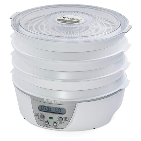 Presto 06301 Dehydro™ Digital Electric Food Dehydrator Manual