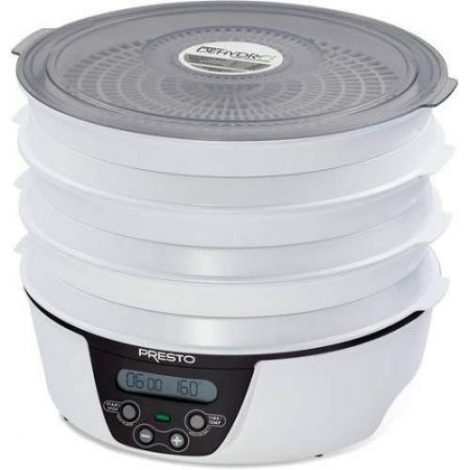 Presto 06303 Dehydro Electric Food Dehydrator Manual