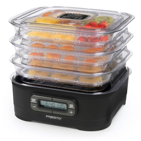 Presto 06304 Dehydro Digital Electric Food Dehydrator Manual
