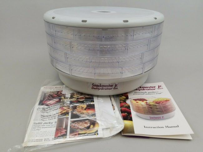 American Harvest Snackmaster Jr. FD-20 Dehydrator Manual
