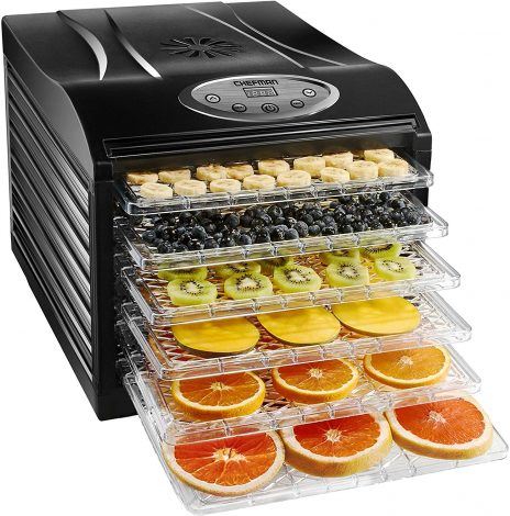 Chefman Professional Electric Food Dehydrator Machine Manual