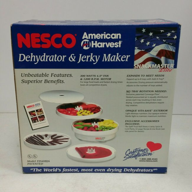 Nesco FD-40 Dehydrator Manual